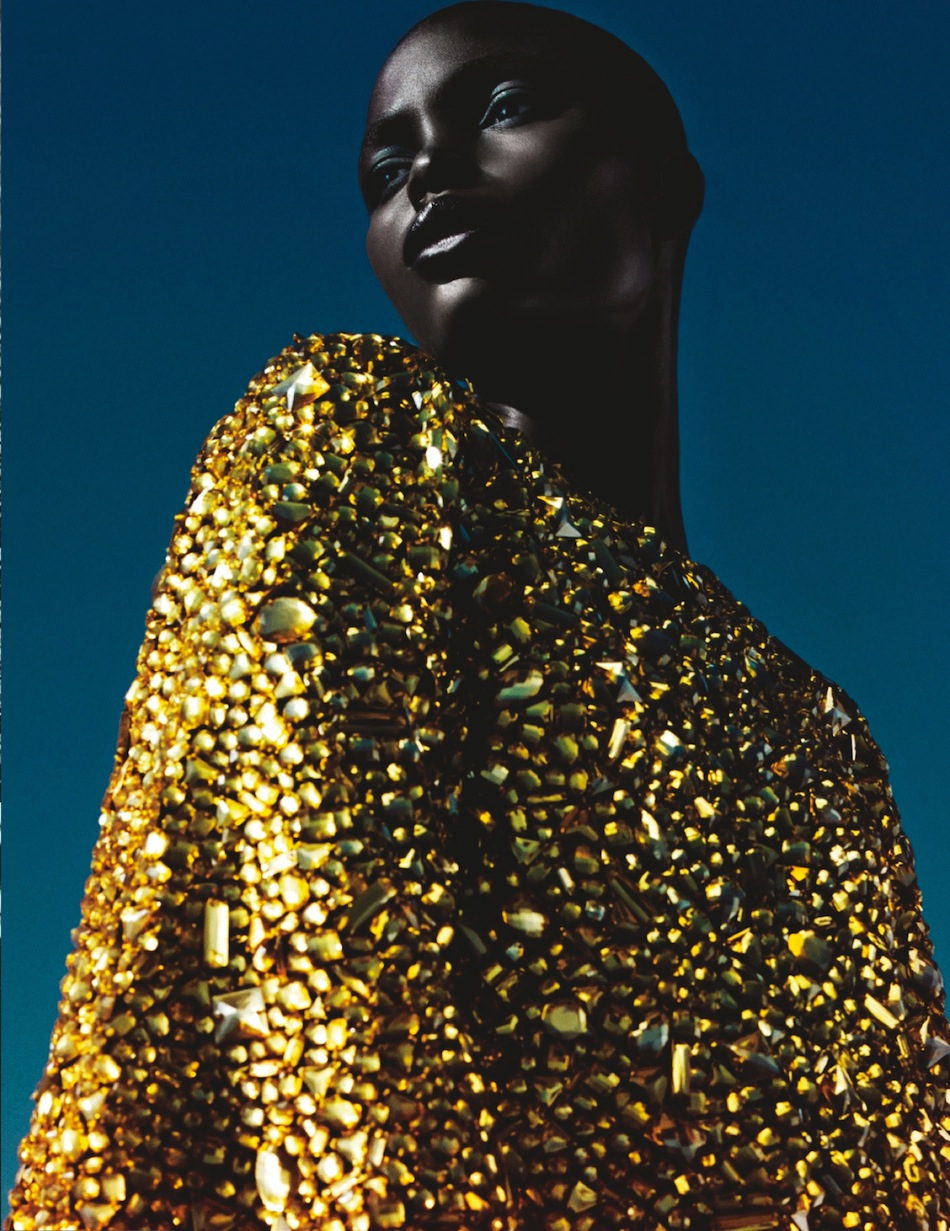 Jeniel Williams in Numéro Magazine February 2014 by Txema Yeste