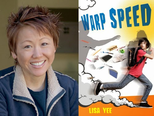 Lisa Yee, author of Warp Speed