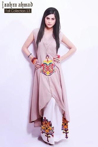 Zahra Ahmad Fall Collection 2013 2014 - Dreses By Zahra AHMAD