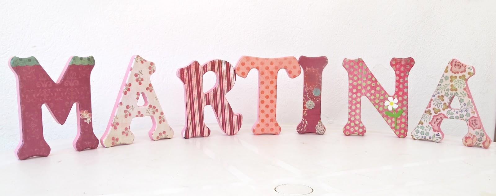 Letras decorativas en madera imagui - Letras de madera decorativas ...