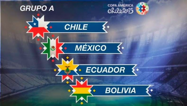 grupo a copa america chile 2015 programacion