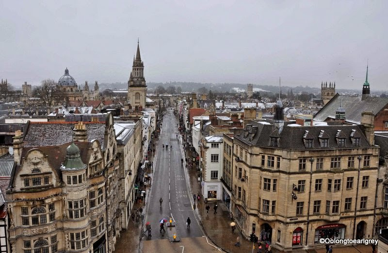 Oxford on a snowy day