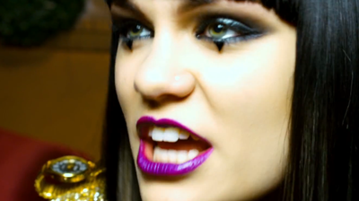 Jessie J, conviction, from video Nobody's perfect, 2011.