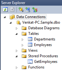 Using stored procedures with LINQ to SQL