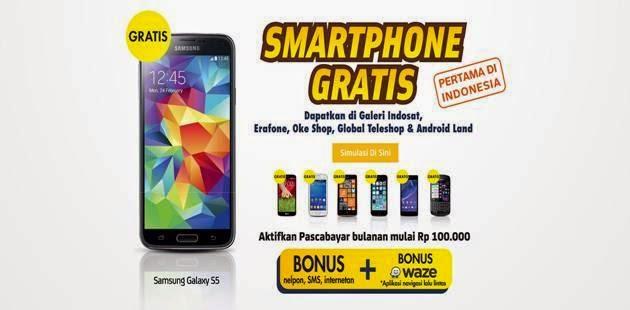 Dapatkan Hp Smartphone Gratis Dari Indosat Sekarang Juga!