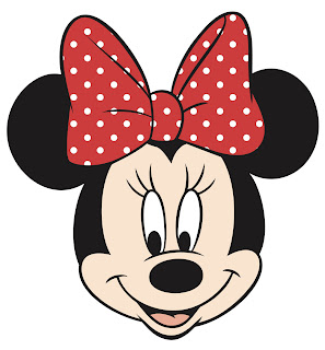 cara de minnie mouse para imprimir