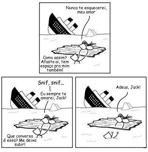 titanic afundou