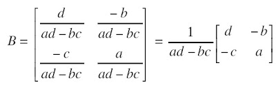 Invers Matriks Berordo 2 × 2