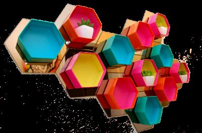 hexagon_quirky_home_decor_quirkitdesign