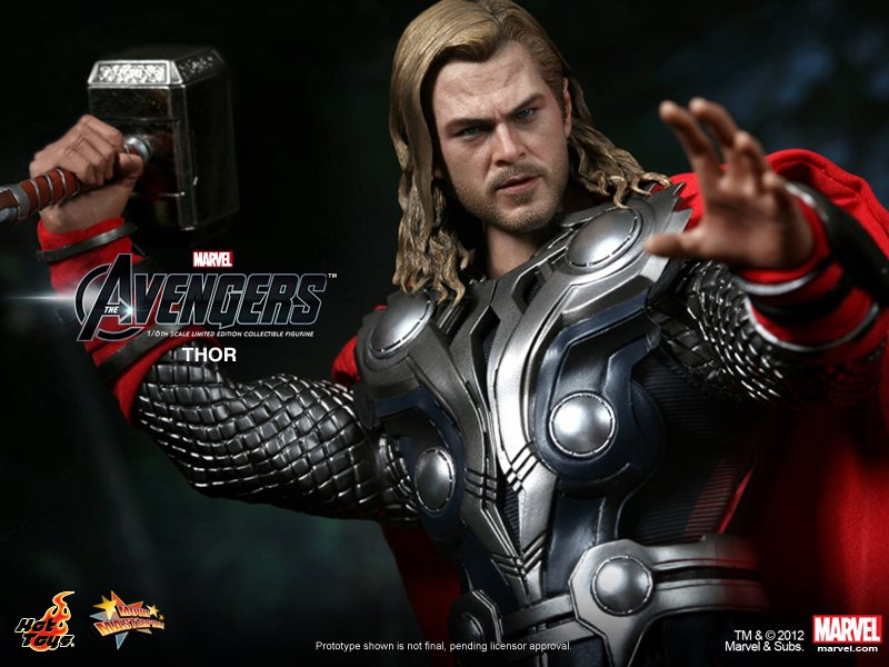 Hot Toys 1//6 The Avengers Thor MMS175