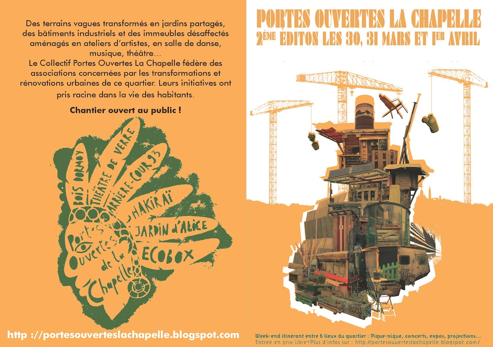 Le shakirail mars 2012 - Cinema porte de la chapelle ...