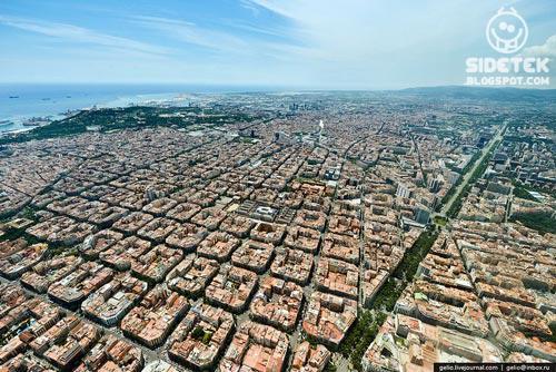 Uniknya Arsitektur Kota Barcelona