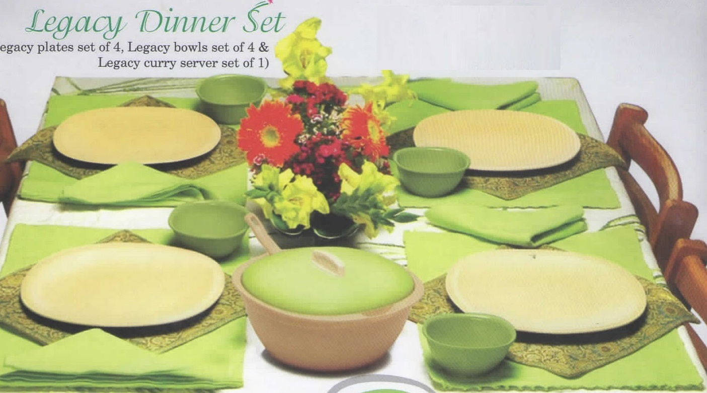 Tupperware Legacy Dinner Set & Tupperware Bangalore: Tupperware Legacy Dinner Set