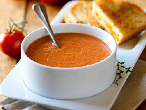 Tomato Soup, Monastic Recipe, Mediterranean Diet, Monastic Recipes of Holy Mount Athos,