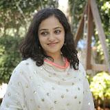 Nitya meenon Latest Photo Gallery in Salwar Kameez at New Movie Opening 22