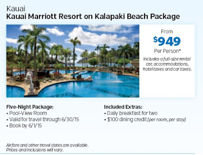 Kauai Hawaii Marriott Resort on Kalapaki Beach Package at Costco