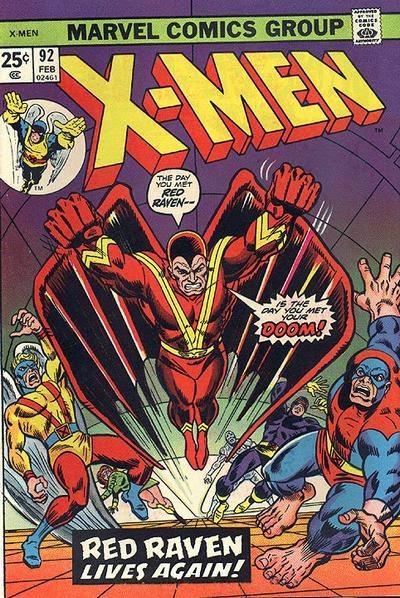 X-Men #92, Red Raven