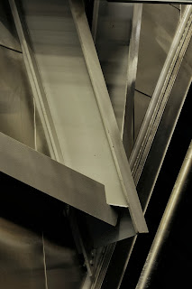 Frank Gehry architecture architectural abstract detail famous weird metal steel Princeton university tim macauley peter b lewis building new jersey usa