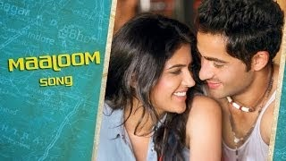 MAALOOM SONG LYRICS / VIDEO - LEKAR HUM DEEWANA DIL | HRIDAY GATTANI | JONITA GANDHI