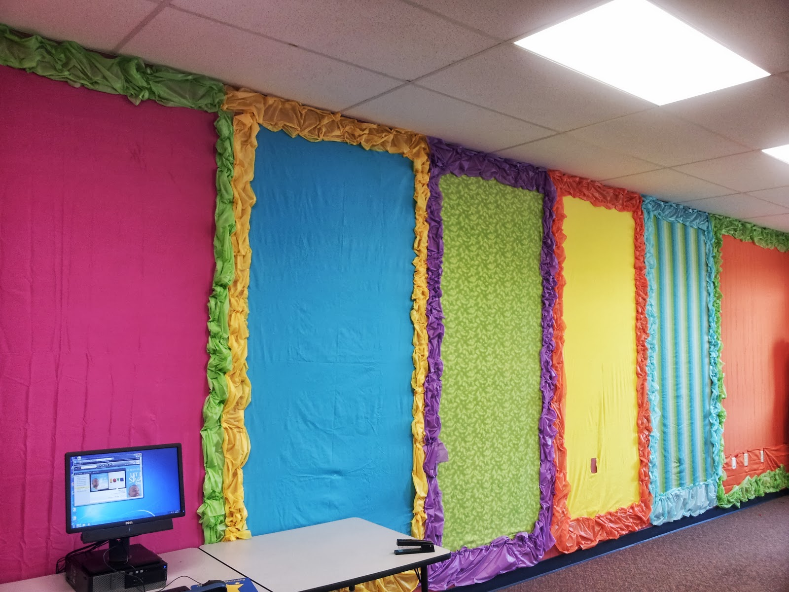 Where Learning Is Fun Colorful Bulletin Boards