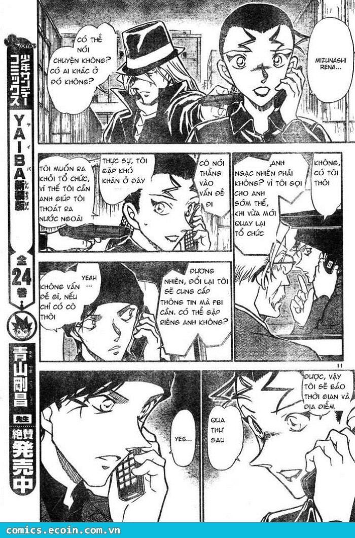 Detective Conan - Thám Tử Lừng Danh Conan chap 607 page 11 - IZTruyenTranh.com