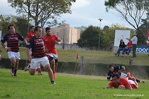 Contundente victoria de Tarcos en San Lorenzo (foto de archivo)
