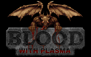 Blood video game title screen