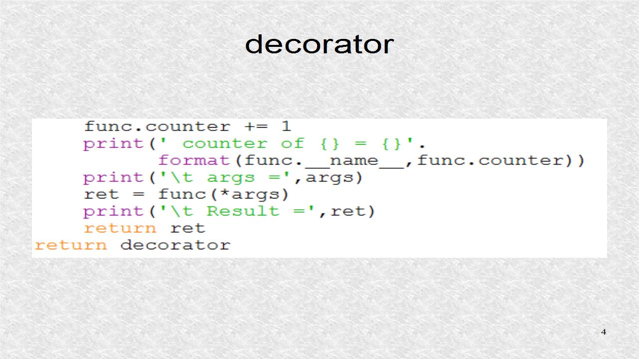 Mobile programming in python 51 python decorators for Decorator python