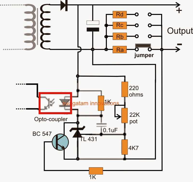Adjustable Current SMPS Circuit