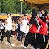 500 Kader PKS Pasar Rebo Antusias Senam Nusantara di Cibubur