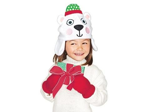 Tiny Tillia Polar Bear Hat & Mittens
