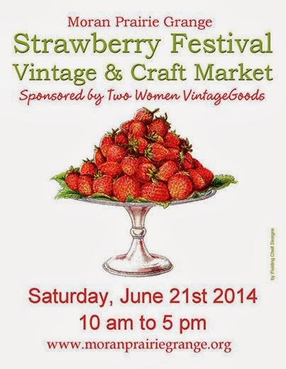Strawberry Festival Vintage & Craft Market