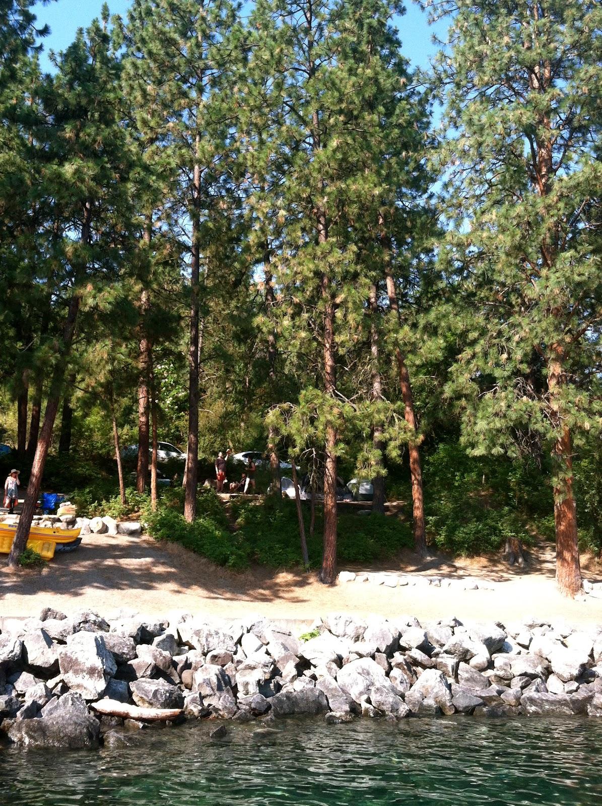 Camp Trip Lake Chelan State Park Camp Jackalope