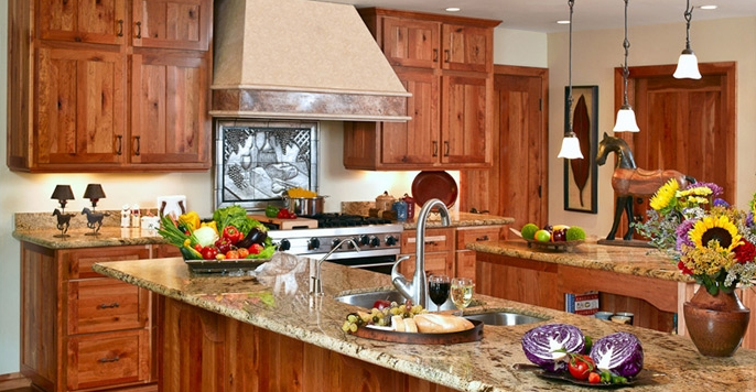 Of The Most Striking Yet Comfortable Colors There Is For Any Kitchen