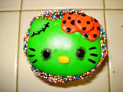 Zombie Hello Kitty Cake Hello Kitty Zombie Stu...