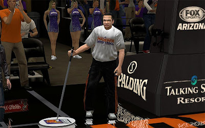 NBA 2K13 Phoenix Suns Janitor Patch
