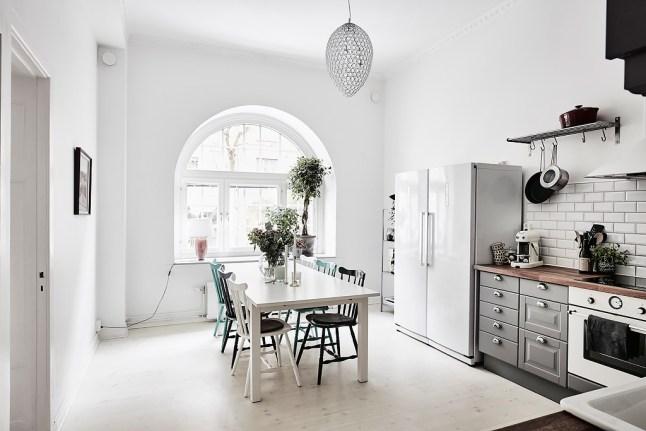 Como decorar una casa blanca y gris boho deco chic - Como reformar una casa ...