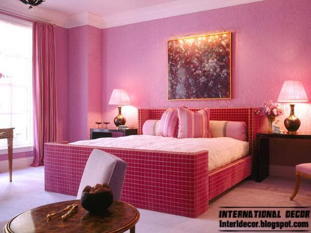Bedroom Paint Ideas 2014 15 pink girl's bedroom 2014 : inspire pink room designs ideas for