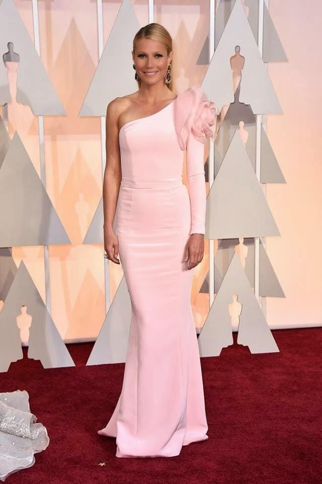 Óscares 2015 - As mais bem vestidas - Gwyneth Paltrow por Ralph and Russo.