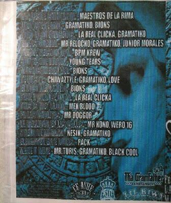 Tha Gramfather - Lil Kiwy Presentan BPM Lo Mejor Vol 2