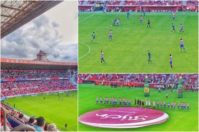 Torneo Villa de Gijon 2015 Sportings de Gijon contra Palermo