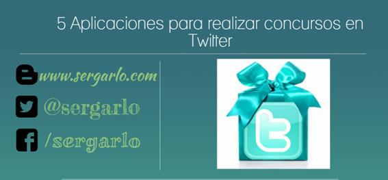 Twitter, Aplicaciones, Concursos