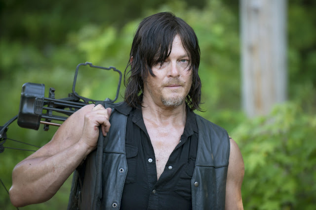 Norman Reedus como Daryl Dixon – The Walking Dead _ sexta temporada, Episode 1 – Photo Credit: Gene Page/AMC