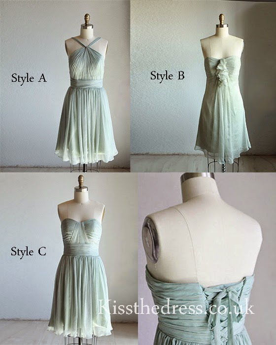 dismatched bridesmaid dress
