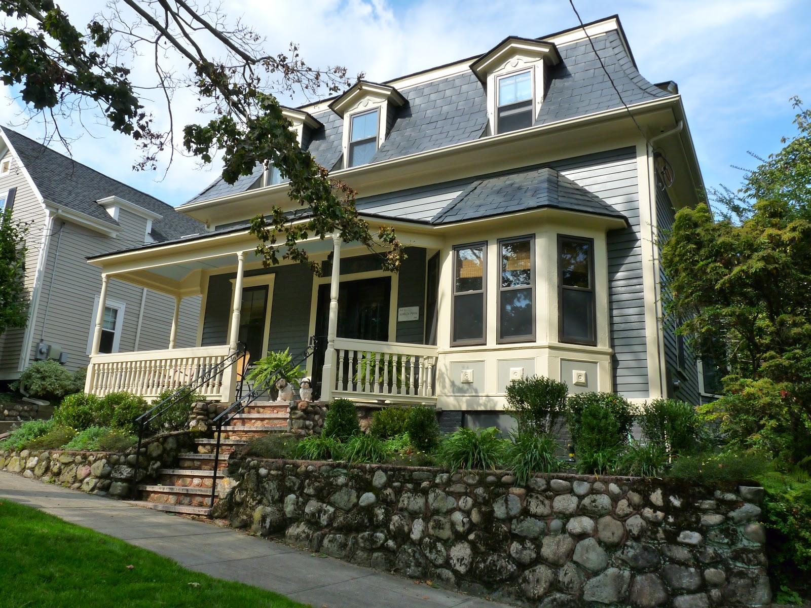 Hazardous Design Our New Old House Exterior Revealed
