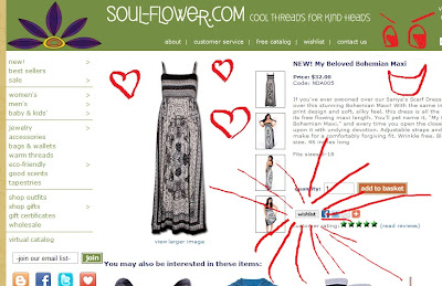 Wishlistselect - How to Create a Wishlist on Soul-Flower.com