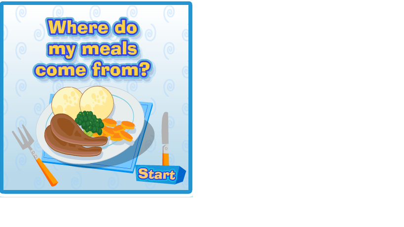 GLORIA FUERTES KIDS BLOG: Primary 1,2. Where does my food come from?