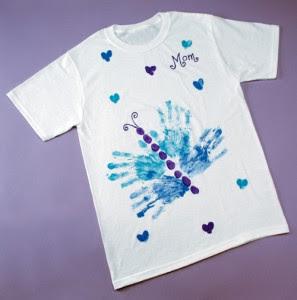 Presentes com carimbo das m ozinhas pra gente mi da - Plantillas para pintar camisetas a mano ...
