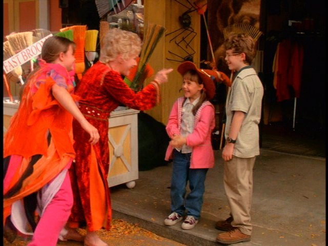 the story in halloweentown begins on halloween as should be little surprise as three kids look longingly at the festivities from inside their house