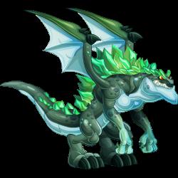 imagen del dragon kaiju de dragon city